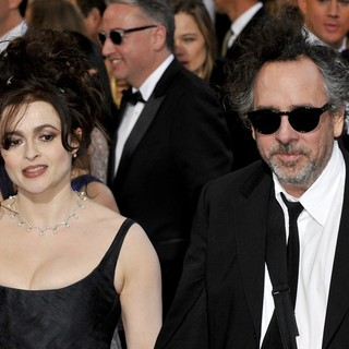 Helena Bonham Carter, Tim Burton in The 85th Annual Oscars - Red Carpet Arrivals