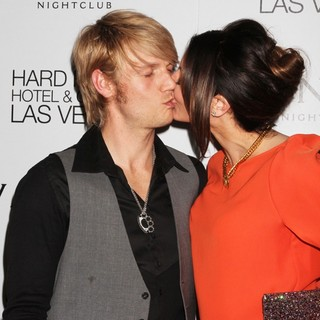 Nick Carter, Lauren Kitt in Nick Carter Celebrates His Birthday