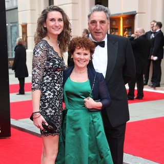 Bessie Carter, Imelda Staunton, Jim Carter in The Olivier Awards 2013 - Arrivals