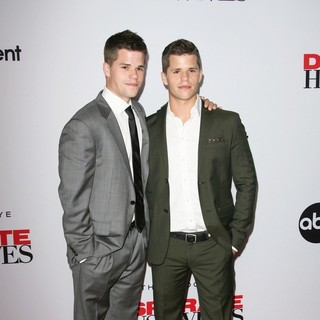 Max Carver, Charlie Carver in Desperate Housewives Final Season Kick-Off Party