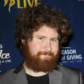 Casey Abrams in The 4th Annual Holiday Christmas Tree Lighting Ceremony and The Opening of LA Kings