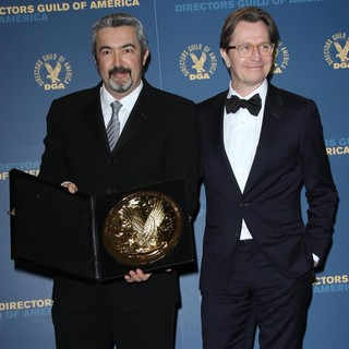 Jon Cassar, Gary Oldman in 64th Annual Directors Guild of America Awards - Press Room