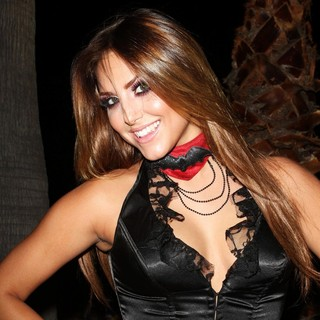 Cassie Scerbo in L.A. Gay and Lesbian Center's Annual Halloweenie Party