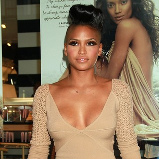 Cassie in The Carol's Daughter Spokesbeauty and Monoi Repairing Collection Launch