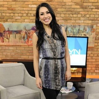 Cassie Steele in Cassie Steele Appears on The Marilyn Denis Show Promoting TV Series The L.A. Complex