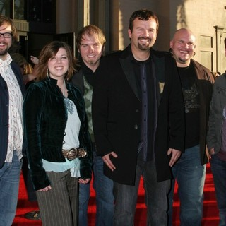 Casting Crowns in 33rd Annual American Music Awards - Arrivals - casting-crowns-33rd-annual-american-music-awards-press-room-01