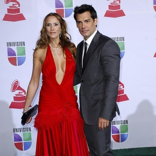 Angelica Castro, Cristian de la Fuente in The 12th Annual Latin GRAMMY Awards - Arrivals