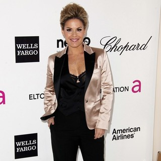 Cat Cora in The 20th Annual Elton John AIDS Foundation's Oscar Viewing Party - Arrivals