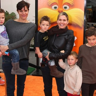 Jennifer Cora, Cat Cora in The Premiere of The Lorax - Arrivals
