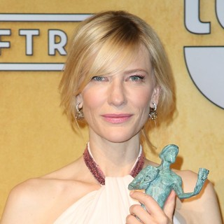 Cate Blanchett in The 20th Annual Screen Actors Guild Awards - Press Room