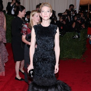 Cate Blanchett in Schiaparelli and Prada Impossible Conversations Costume Institute Gala