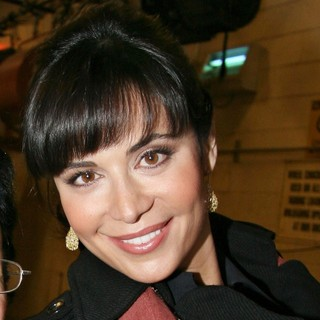 Catherine Bell Outside ABC Studios for Live with Regis and Kelly