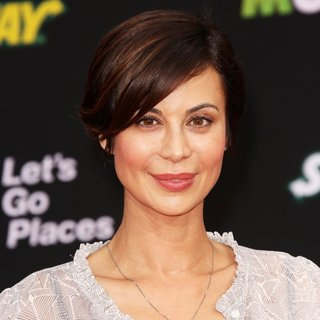 Los Angeles Premiere of Disney's Muppets Most Wanted - Red Carpet Arrivals - catherine-bell-premiere-muppets-most-wanted-02