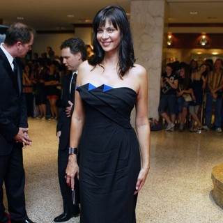 Catherine Bell in White House Correspondents' Association Dinner - Arrivals - catherine-bell-white-house-correspondents-01