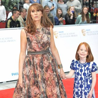 Catherine Tate in Philips British Academy Television Awards in 2011 - Arrivals - catherine-tate-bafta-2011-01