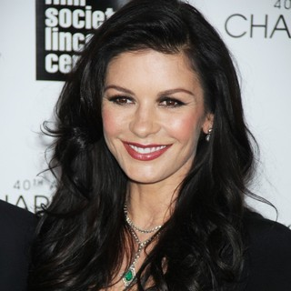 Catherine Zeta-Jones in 40th Anniversary Chaplin Award Gala Honoring Barbra Streisand
