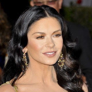 Catherine Zeta-Jones in The 85th Annual Oscars - Red Carpet Arrivals