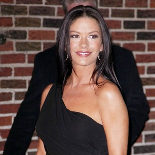 Catherine Zeta-Jones in Celebrities for The Late Show with David Letterman