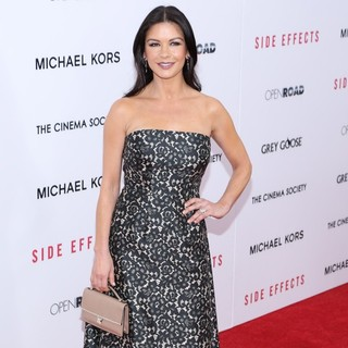 Catherine Zeta-Jones in New York Premiere of Side Effects