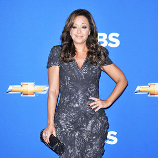 Leah Remini in 2010 CBS Fall Launch Premiere Party