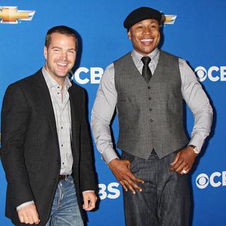 Chris O'Donnell, LL Cool J in 2010 CBS Fall Launch Premiere Party
