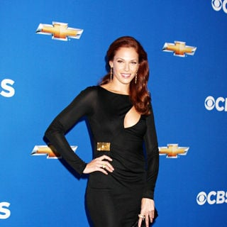 Amanda Righetti in 2010 CBS Fall Launch Premiere Party