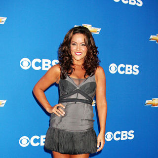Katy Mixon in 2010 CBS Fall Launch Premiere Party