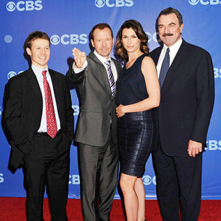 Will Estes, Donnie Wahlberg, Bridget Moynahan, Tom Selleck in CBS Upfronts for 2010/2011 Season