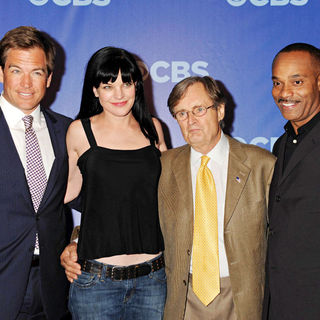 Michael Weatherly,  Pauley Perrette, David McCallum, Rocky Carroll in CBS Upfronts for 2010/2011 Season