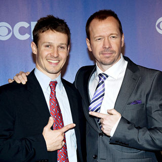 Will Estes, Donnie Wahlberg in CBS Upfronts for 2010/2011 Season