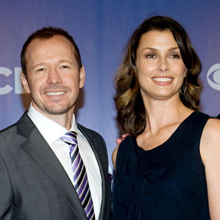 Donnie Wahlberg, Bridget Moynahan in CBS Upfronts for 2010/2011 Season
