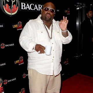 Cee-Lo in Bacardi Like It Live It Together Event