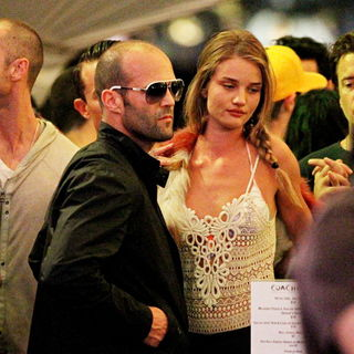 Jason Statham, Isabel Lucas in The 2010 Coachella Valley Music and Arts Festival - Day 1