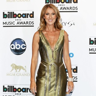 Celine Dion in 2013 Billboard Music Awards - Press Room