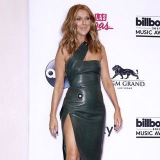 Celine Dion in 2015 Billboard Music Awards - Press Room