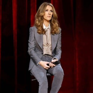 Celine Dion in Celine Dion's Momentous Return to The Colosseum Press Conference