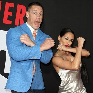 John Cena, Nikki Bella in Premiere of Universal Pictures' Blockers