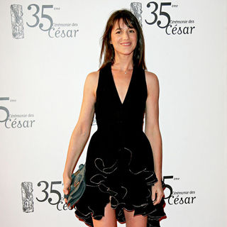 Charlotte Gainsbourg in The 35th Annual Cesar Awards 2010 - Arrivals and Press Room - cesar_awards_06_wenn2757251