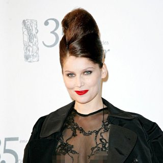 Laetitia Casta in The 35th Annual Cesar Awards 2010 - Arrivals and Press Room