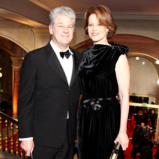 Sigourney Weaver, Jim Simpson in The 35th Annual Cesar Awards 2010 - Arrivals and Press Room