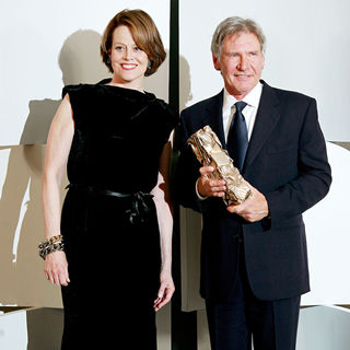 Sigourney Weaver, Harrison Ford in The 35th Annual Cesar Awards 2010 - Arrivals and Press Room