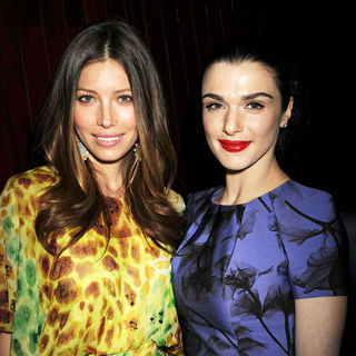 Jessica Biel, Rachel Weisz in 2010 CFDA Fashion Awards - Arrivals