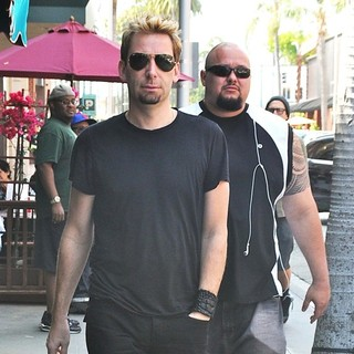 Chad Kroeger, Nickelback in Chad Kroeger Is Spotted Out and About