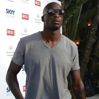 Chad Ochocinco - Mercedes-Benz Fashion Week Swim