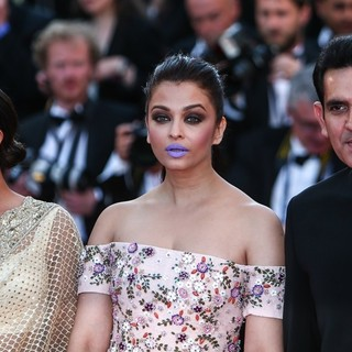 Richa Chadha, Aishwarya Rai, Darshan Kumaar in 69th Cannes Film Festival - From the Land of the Moon Premiere - Arrivals