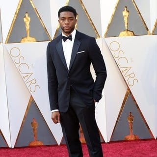 Chadwick Boseman in 88th Annual Academy Awards - Red Carpet Arrivals