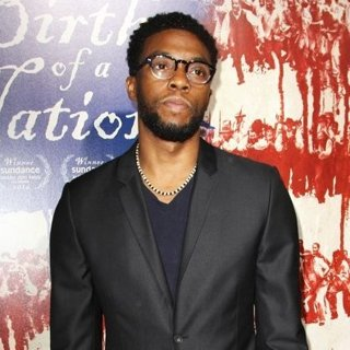 Chadwick Boseman in The Birth of a Nation Los Angeles Premiere