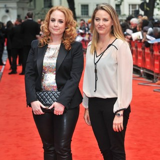 Jessica Chaffin, Jamie Denbo in U.K. Film Premiere of The Heat - Arrivals