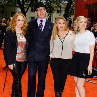 Jessica Chaffin, Paul Feig, Jamie Denbo, Katie Dippold in U.K. Film Premiere of The Heat - Arrivals