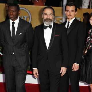 Timothee Chalamet, David Harewood, Mandy Patinkin, Rupert Friend, Morgan Saylor, Jackson Pace in 19th Annual Screen Actors Guild Awards - Arrivals